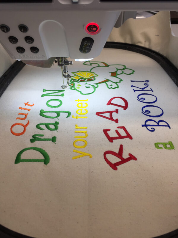 Lettering fun tutorial at WeAllSew