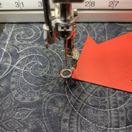 BERNINA Q-matic Snap to Point feature