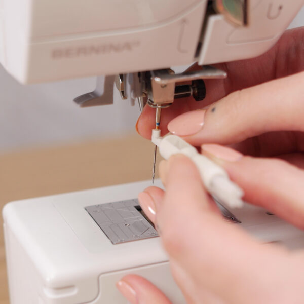 How to Clean and Oil Sewing Machines with a CB Hook - Hook Cleaning - remove the needle