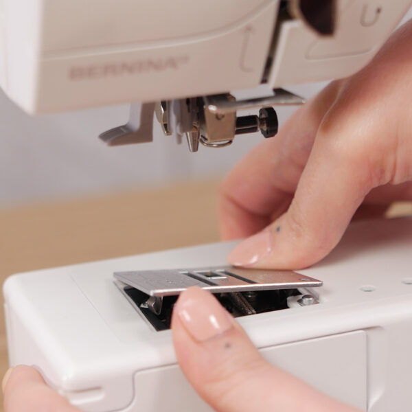 How to Clean and Oil Sewing Machines with a CB Hook - Hook Cleaning - remove the needle - remove the stitch plate