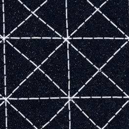close-up of Sashiko design