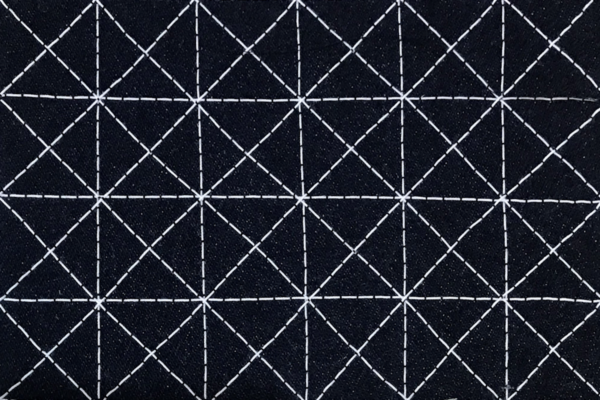 stitched Sashiko design