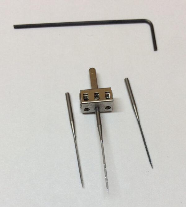 Denim needle punch tutorial at WeAllSew