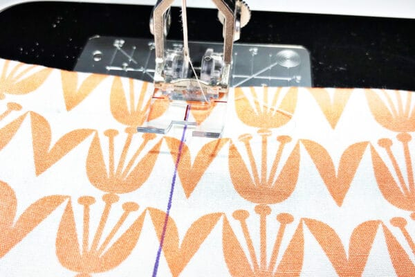 Handmade Heating-Cooling Pad Tutorial: Fill each section and sew