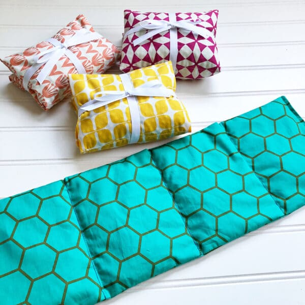 Handmade Heating-Cooling Pad Tutorial: Finishing up