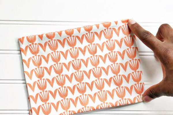 Handmade Heating-Cooling Pad Tutorial: Marking the fabric