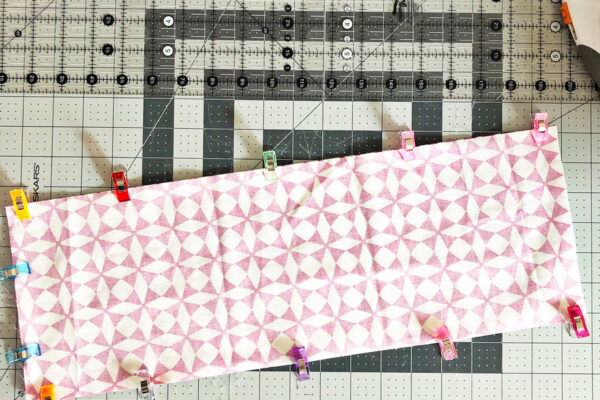 Handmade Heating-Cooling Pad Tutorial: Preparing the fabric for sewing