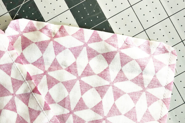 Handmade Heating-Cooling Tutorial: Preparing the fabric for sewing