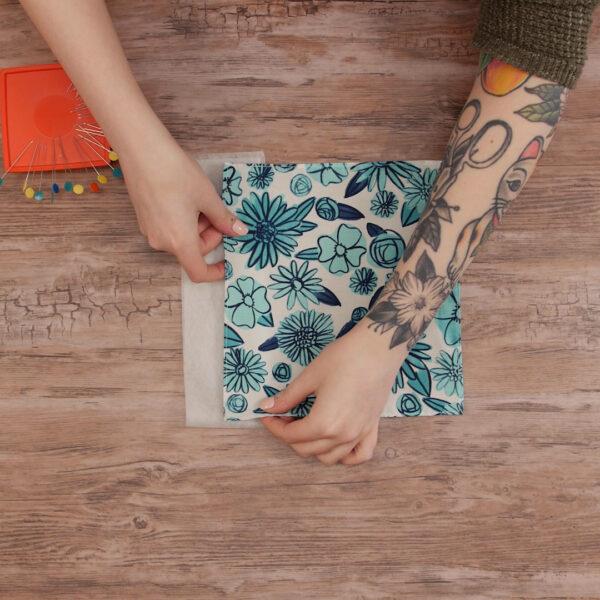 Lacey edge handkerchief from WeAllSew