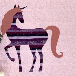 Unicorn Quilt Tutorial from WeAllSew