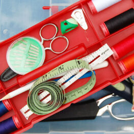 What's in your sewing kit: tools