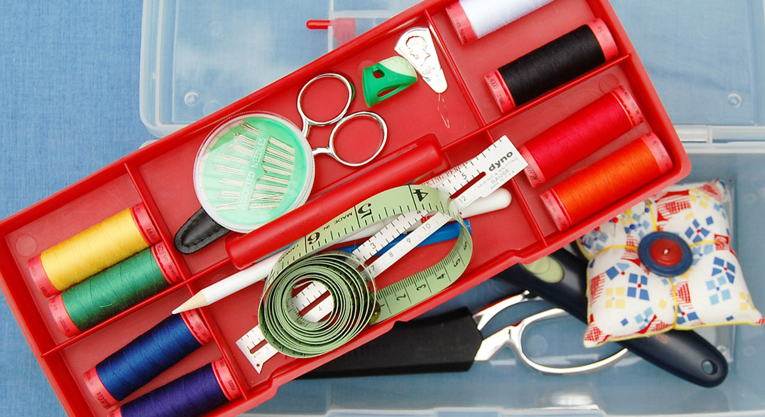 Whats in your sewing kit tools 1100 x 600 at WeAllSew