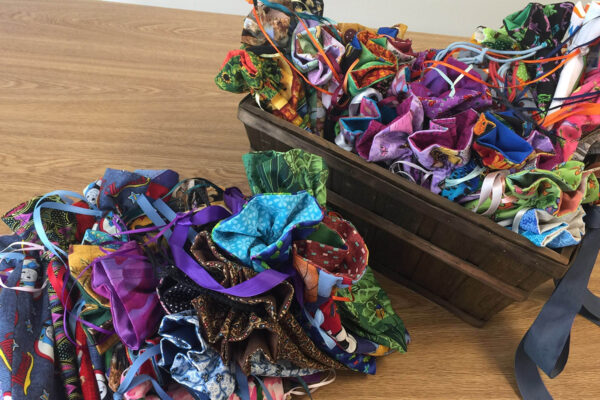 Beads of Courage Bags sewn by Macy Nunan