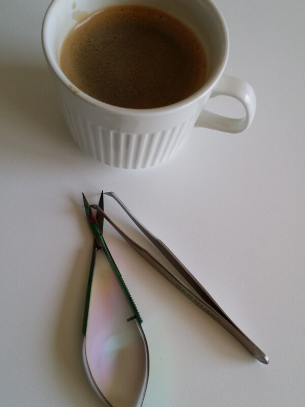 Coffee with Tweezers and Snips