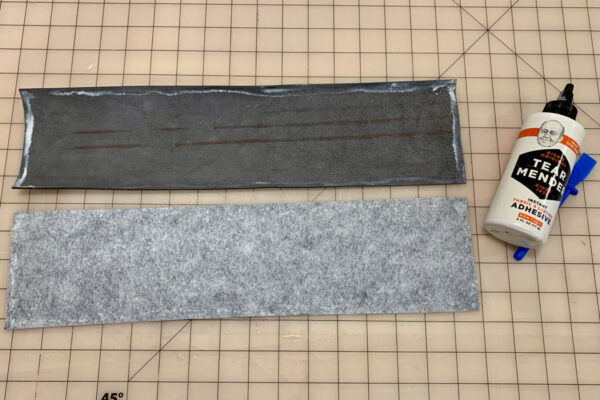 Leather Eyeglasses Case Glue Up