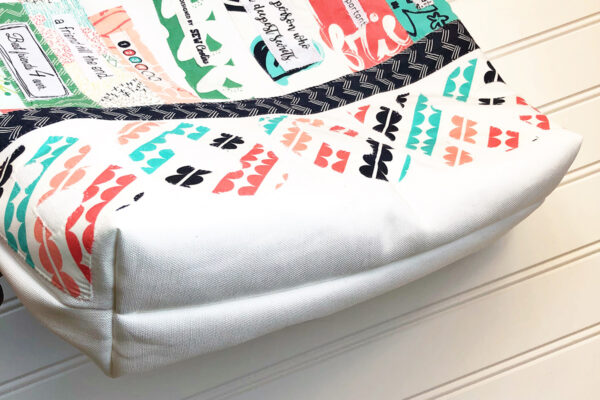 Library Book Tote and Pencil Case: Sew the tote