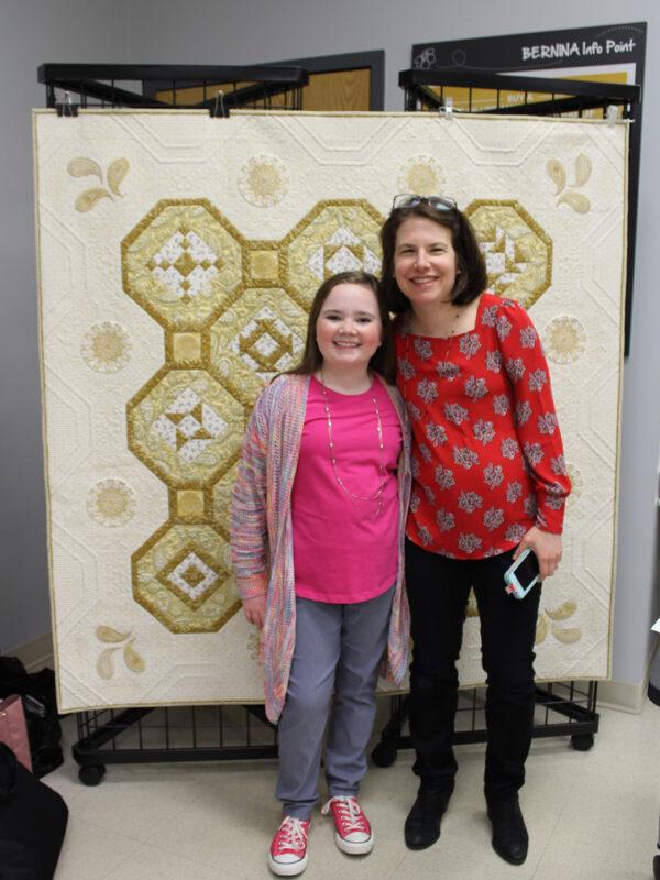 Macy Nunan and Amanda Murphy at BERNINA of America