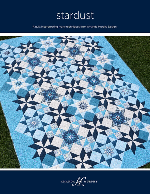 The Stardust Quilt Pattern by Amanda Murphy