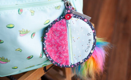 back to school mini purse from WeAllSew