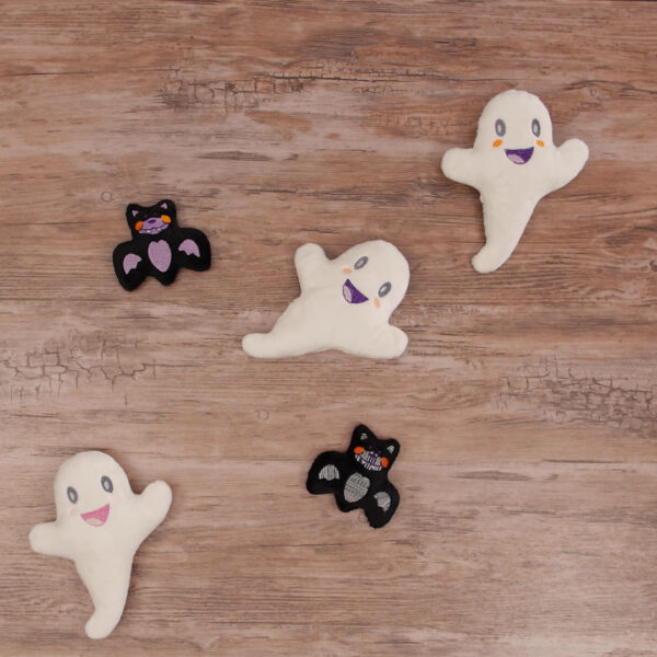 DIY Minky Ghosts
