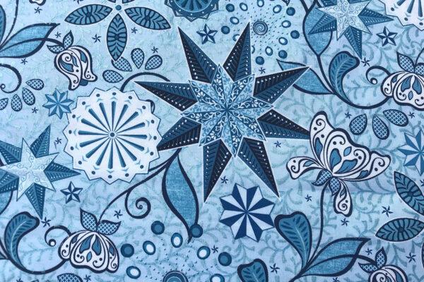 "Stardust Quilt: A Celestial Lights ""feature print"""