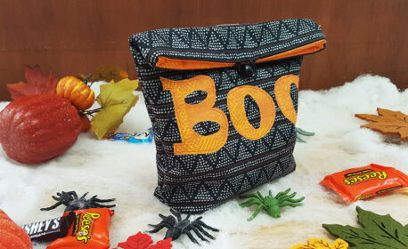 Trick or Treat Bag Tutorial from WeAllSew