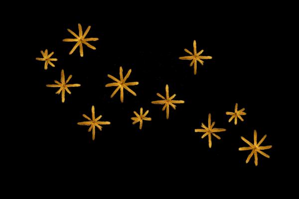 zigzag flowers