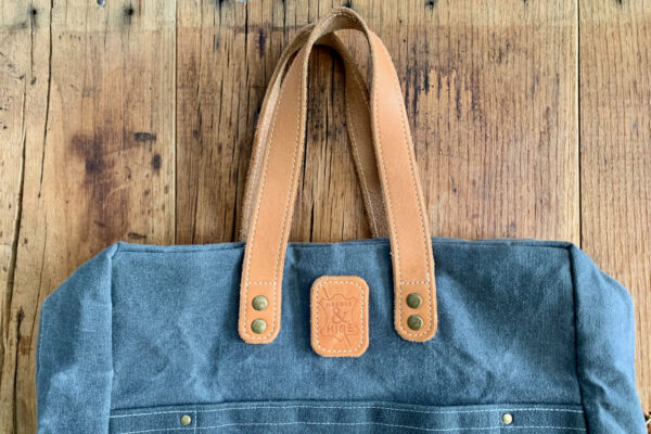 Adding Leather Accents Bag2