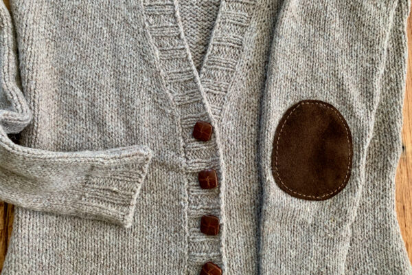Adding Leather Accents Elbow Patches