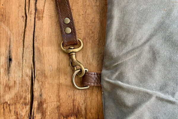 Adding Leather Accents Side Strap Holder