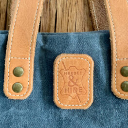 How to Add Leather Straps from WeAllSew