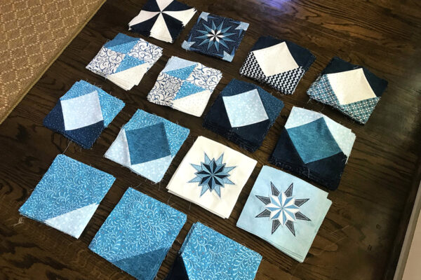 Stardust Quilt-along piecing tips