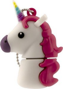 Tula Pink Unicorn White USB