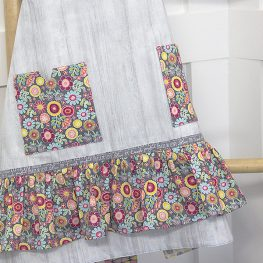 Vintage Apron Tutorial from WeAllSew