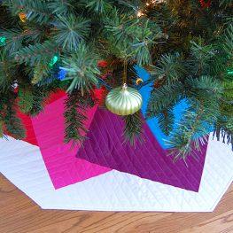 Color Tile Tree Skirt Tutorial at WeAllSew