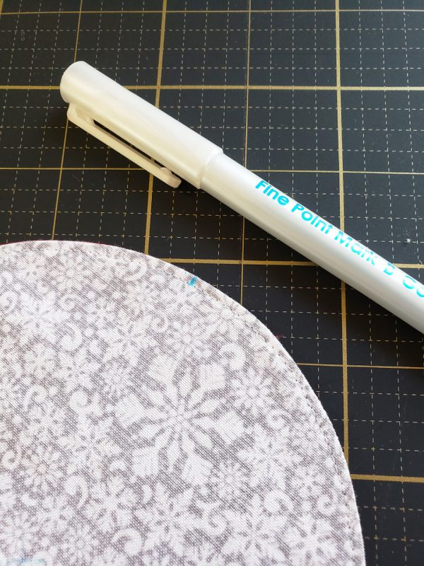 Folded Fabric Ornament Tutorial from WeAllSew