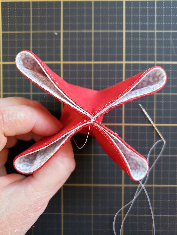 Folded Fabric Ornament Tutorial At Weallsew 1440 X 1080 25 Weallsew
