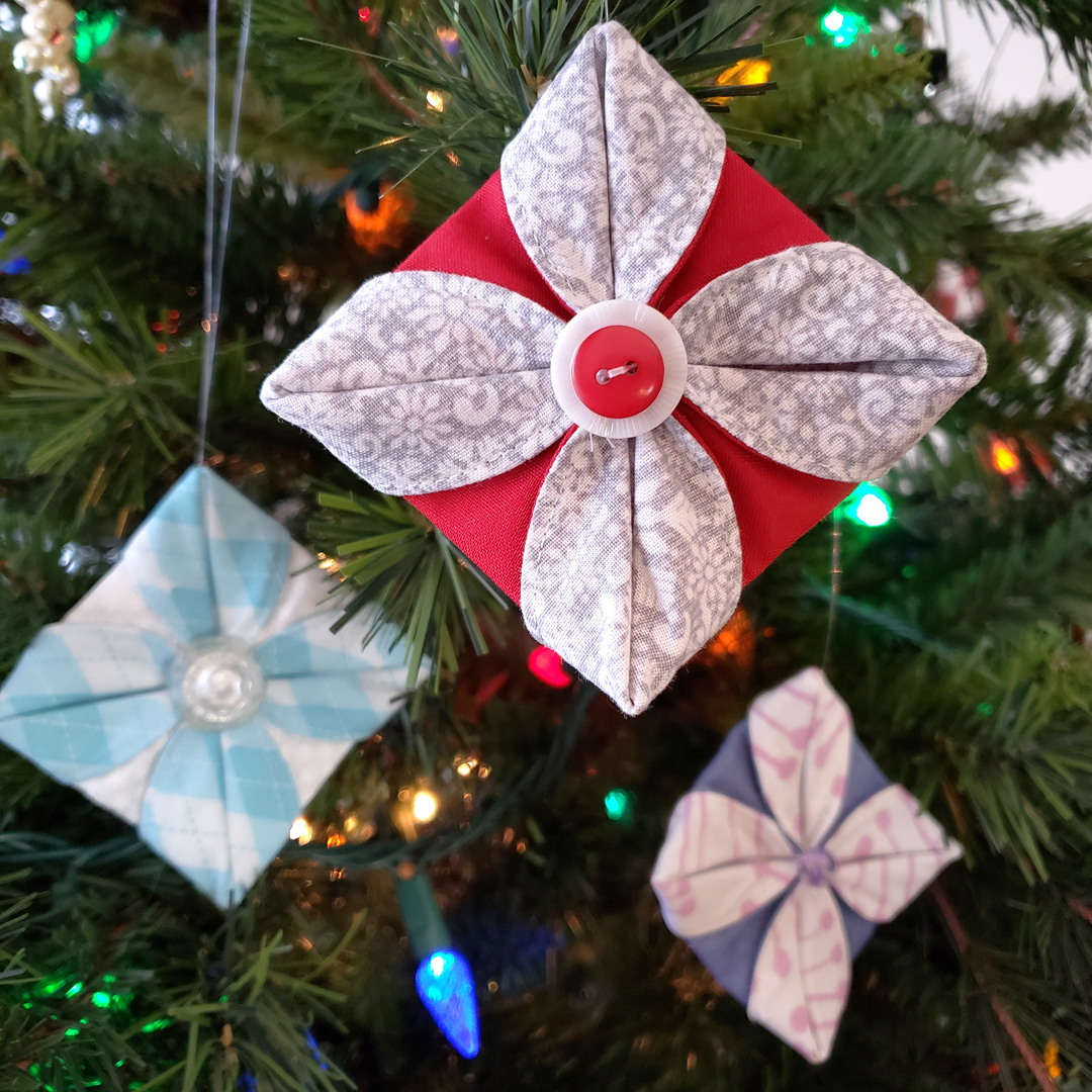 Fabric Ornaments With Circular Attachment 83 Weallsew