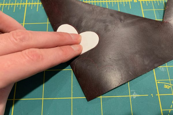Quick and Easy Leather Gifts Corner Bookmark Template 4