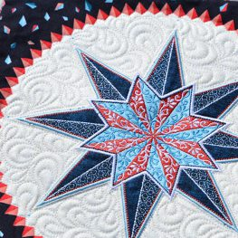 Stardust Quilt-along Digitizing Designs and Free-motion