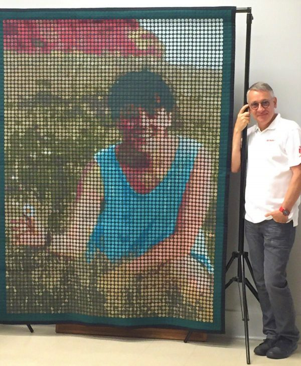 The Chantal Quilt by Sylvain Bergeron at WeAllSew