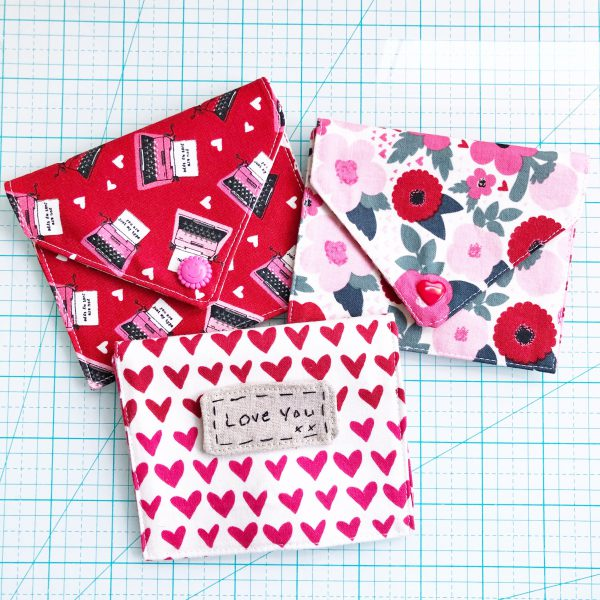 Fabric Envelope Tutorial: Finished Product