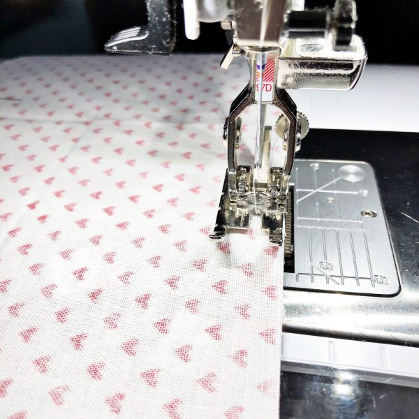 Fabric Envelope Tutorial: Sew the front and back together