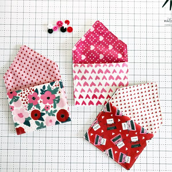 Fabric Envelope Tutorial: Attach the snap