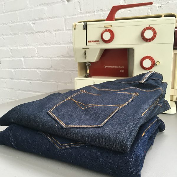 Jeans Tips: Stitching Details at WeAllSew
