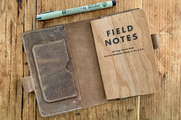 Leather Field Notes Cover 2
