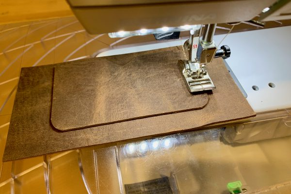 Leather Field Notes Cover Card Pocket Sewing
