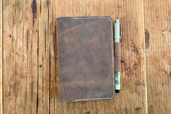 Leather Field Notes Cover Closed