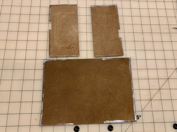 Leather Field Notes Cover Glue Up 2