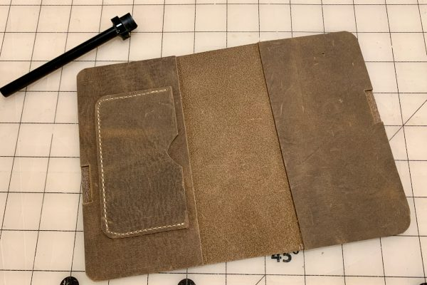 Leather Field Notes Cover Glue Up 4